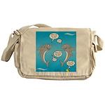 Shark Activities Messenger Bag