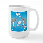 Shark Activities 15 oz Ceramic Large Mug