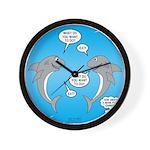 Shark Activities Wall Clock