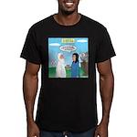 Noah and Menu Planning Men's Fitted T-Shirt (dark)