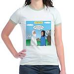 Noah and Menu Planning Jr. Ringer T-Shirt