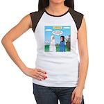Noah and Menu Planning Junior's Cap Sleeve T-Shirt