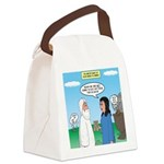 Noah and Menu Planning Canvas Lunch Bag