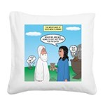 Noah and Menu Planning Square Canvas Pillow
