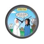 Noah and Menu Planning Wall Clock