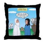 Noah and Menu Planning Throw Pillow