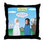 Noah and Menu Planning Throw Pillow