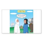 Noah and Menu Planning Sticker (Rectangle)