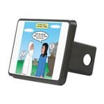 Noah and Menu Planning Rectangular Hitch Cover