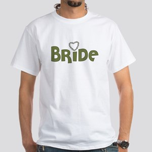 Heart Bride White T-Shirt