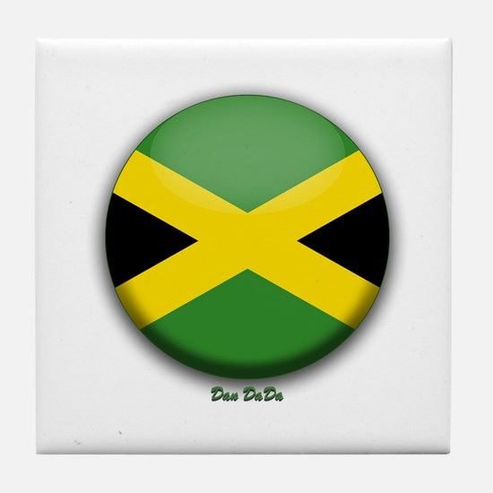Dan DaDa Shield Tile Coaster