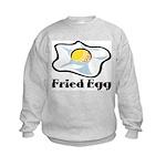 Fried Egg Kids Sweatshirt