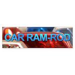 Car Ram-Rod Bumper Sticker