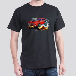 1971-72 Hemi Cuda Red Car Dark T-Shirt
