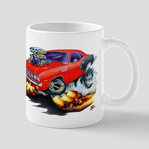 1971-72 Hemi Cuda Red Car Mug