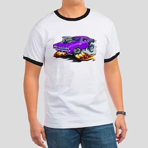 1971-72 Hemi Cuda Purple Car Ringer T