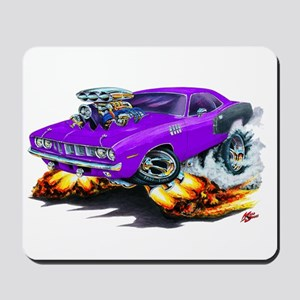1971-72 Hemi Cuda Purple Car Mousepad