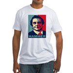 Charles Krauthammer Fitted T-Shirt