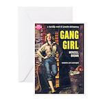 "Greeting (10)-""Gang Girl"""