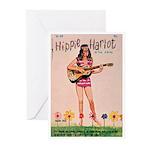 "Greeting (10)-""Hippie Harlot"""