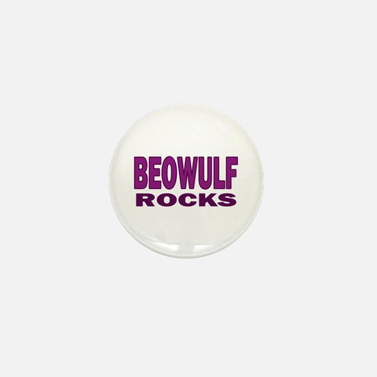 Beowulf Rocks Mini Button