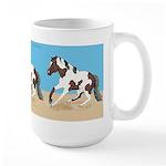 Paint Horse Slide Large Mug