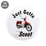 """Just Gotta Scoot Symba 3.5"""" Button (10 pack)"""