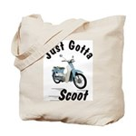 Just Gotta Scoot Symba Tote Bag