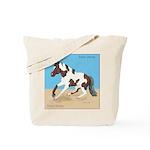 Paint Horse Slide Tote Bag