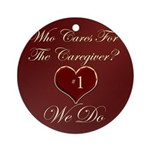 Caregiver Ornament (Round)