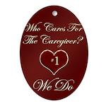 Caregiver Oval Ornament