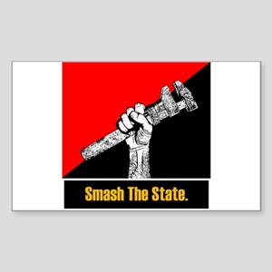 Smash The State Rectangle Sticker