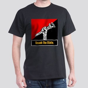 Smash The State Dark T-Shirt