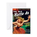 """Greeting (10)-""""The Old Battle Ax"""""""