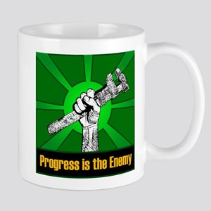 Progress Is The Enemy Mug