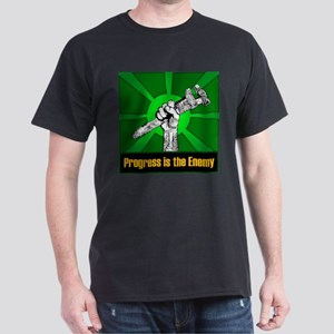 Progress Is The Enemy Dark T-Shirt