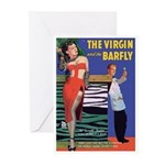 """Greeting (10)-""""The Virgin and Barfly"""""""