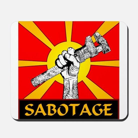 Sabotage Mousepad
