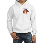 """Save"" Angel Bear Hooded Sweatshirt"
