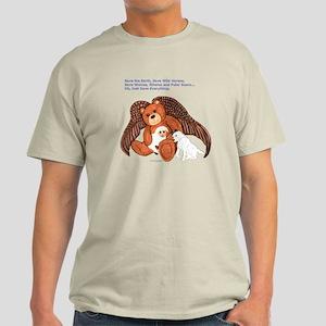 """Save"" Angel Bear Light T-Shirt"