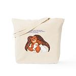"""Save"" Angel Bear Tote Bag"