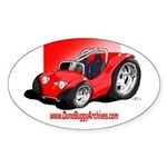 Dune Buggy Archives Oval Sticker
