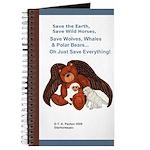 """Save"" Angel Bear Journal"