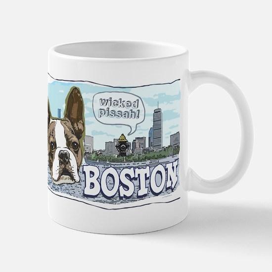 Wicked Pissah Boston Terrier Mug