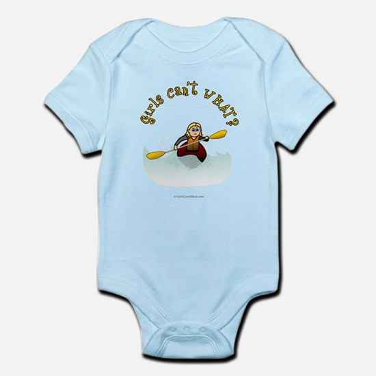 Blonde Kayaking Infant Bodysuit