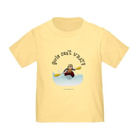 Blonde Kayaking Toddler T-Shirt