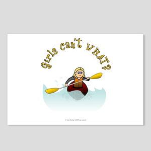 Blonde Kayaking Postcards (Package of 8)