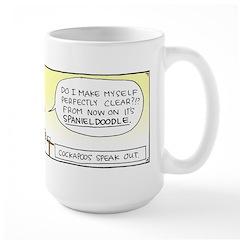 The Breaking Point Large Mug