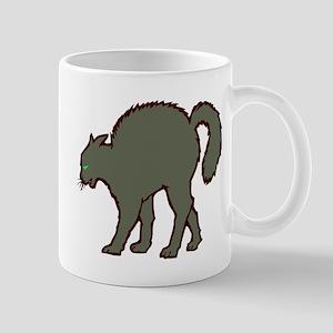BLACK CAT (1) Mug