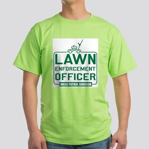 Lawn Enforcement Officer Ash Grey T-Shirt
